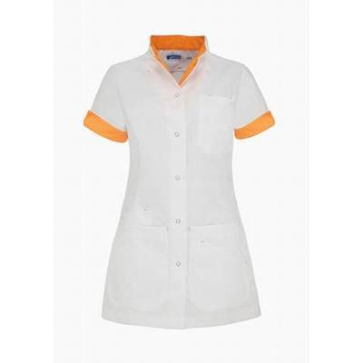 De Berkel Ladies Tunic Livia Wit/Orange (DEB3161326)