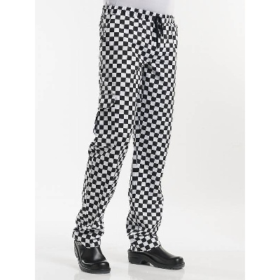 Chaud Devant Chef Pants Baggy Domino (CHA194)