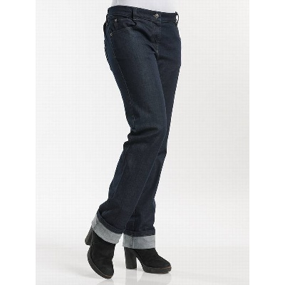 Chaud Devant Kokspantalon Lady Skinny Blue Denim Stretch (CHA197)