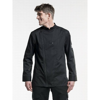 Chaud Devant Chef Jacket Biker Black (CHA288)
