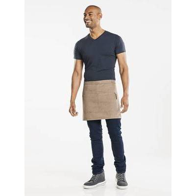 Chaud Devant Apron Base Denim Mud W80 - L40 (CHA422)