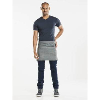 Chaud Devant Apron Base Denim Grey W80 - L40 (CHA481)