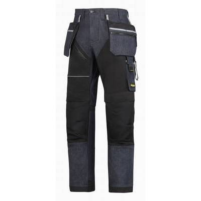 Snickers RuffWork Denim Trousers+ with Holster Pockets (SNI6204)