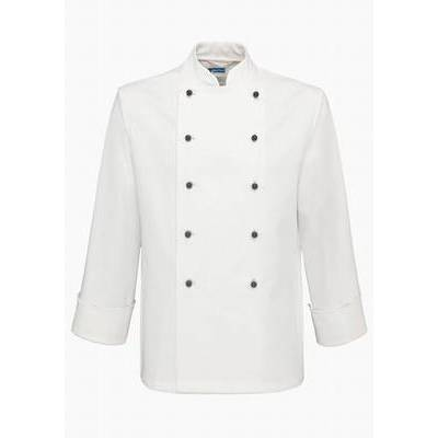 De Berkel Chef Jacket Hilton Ls/Bb White (DEB2440021)