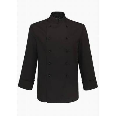 De Berkel Chef Jacket Hilton Ls/Bb Black (DEB2441325)