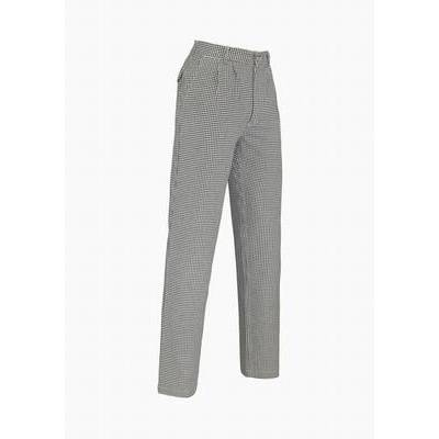 De Berkel Chef Pants BP Black/White Pepita (DEB7326020)