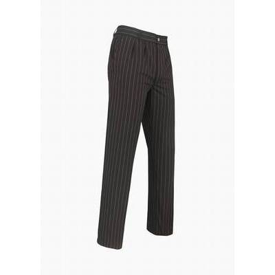 De Berkel Chef Pants PRN Silvio Black/Gray Stripe (DEB7824312)
