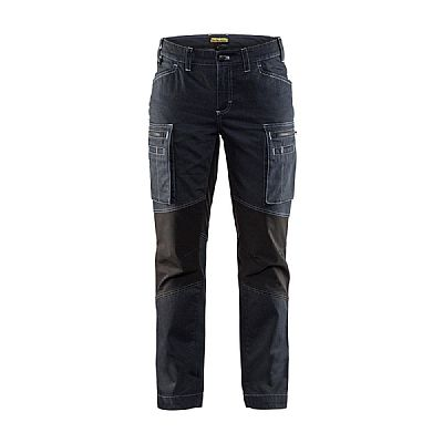 Blaklader Dames Denim Service Werkbroek Stretch (BLA71591142)