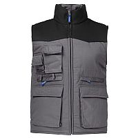 Projob Padded Work Vest with Contrast