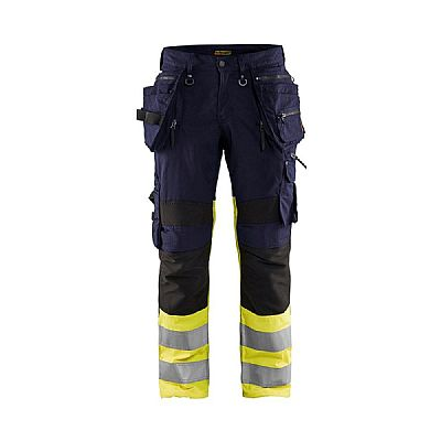 Blaklader HIGH VIS WERKBROEK MET STRETCH X1900 (BLA19941330)