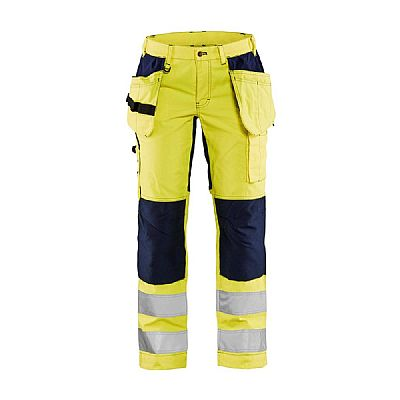 Blaklader DAMES WERKBROEK HIGH VIS MET STRETCH (BLA71631811)