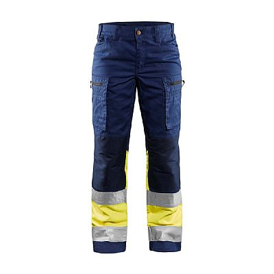 Blaklader DAMES WERKBROEK HIGH VIS MET STRETCH (BLA71611811)