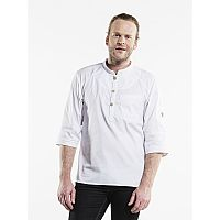 Chaud Devant CHEF JACKET BUJUTSU WHITE (CHA238)