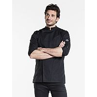 Chaud Devant CHEF JACKET BIKER SFX BLACK (CHA913)