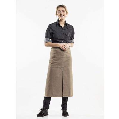 Chaud Devant APRON 4-POCKETS MUD DENIM W90 - L80 (CHA86779)