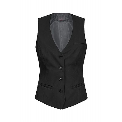 Greiff Damesgilet Zwart - Regular Fit (QTO-8222.500.010)