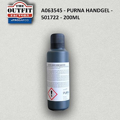 Hand Sanitizer Purna - 501722 - 200ML (PROSA063545 - PURNA)