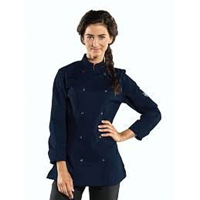 Chaud Devant Chef Jacket Lady Poco Navy (CHA271)