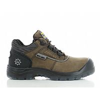 Safety Jogger Safety Shoe Galaxy S3 Metal Free Brown