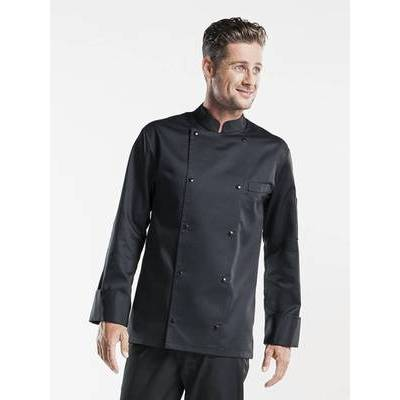 Chaud Devant Chef Jacket Roma Black (CHA269)